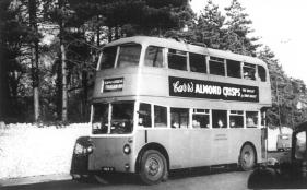 Trolley 72 on Barming Fountain Inn serv