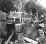 Trolley GKP512 being scrapped 3, 28-4-1967