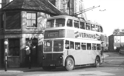 Trolley HKR6 Barming serv in town