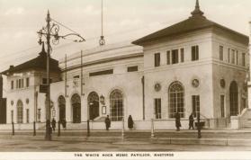 White Rock Music Pavilion from se, 1927