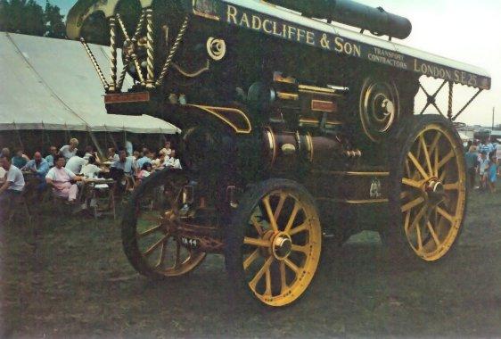 Showmans engine YA44 poss FOT Broad Frm 1980s