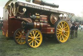 YA44 Showman's engine Radcliffe & Son nearside view