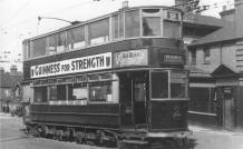 100 route 38 to Embankment @ Abbey Wood, post-war
