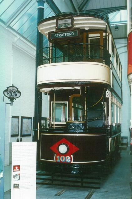 102 West Ham car b1910, LT Museum