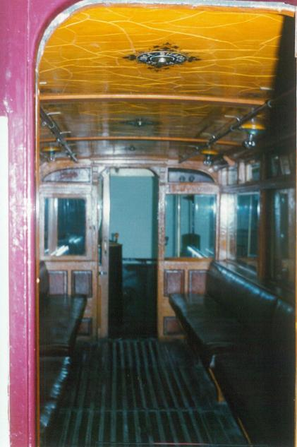 102 lower saloon interior