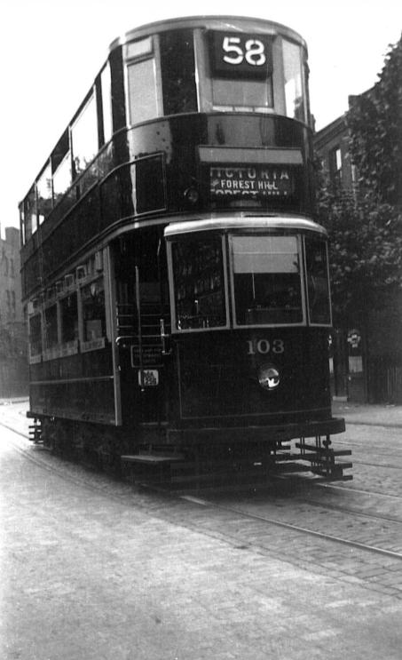 103 route 58 to Victoria, pre-war