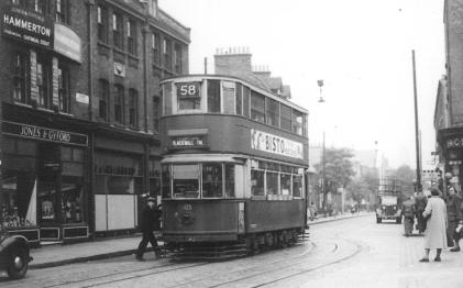 105 route 58 to Blackwall Tnl @ South St, post-war