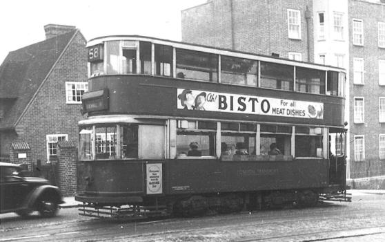 106 route 58 to Blackwall Tnl @ Dog Kennel Hill, 4-10-1951