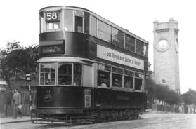111 route 58 to Blackwall Tnl 22-9-1951