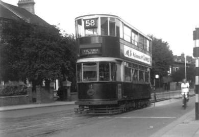 113 route 58 to Victoria 18-8-1951