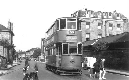 127 route 35 to Forest Hill, post-war