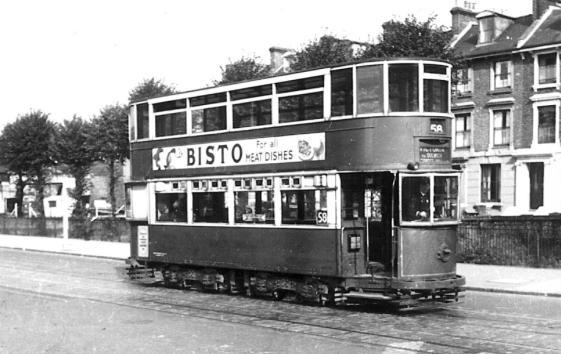 127 route 58 to Victoria @ Lewisham 29-9-1951