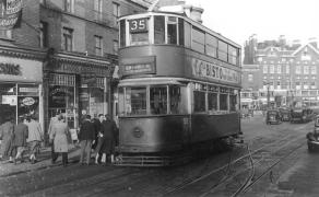 132 route 35 to Forest Hill @ New X Gate 21-10-1951
