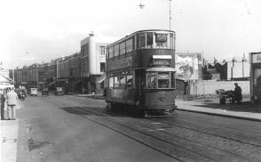 134 route 58 to Blackwall Tnl, 26-9-1951