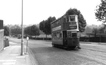 147 route 58 to Blackwall Tnl on Dog Kennel Hill, post-war