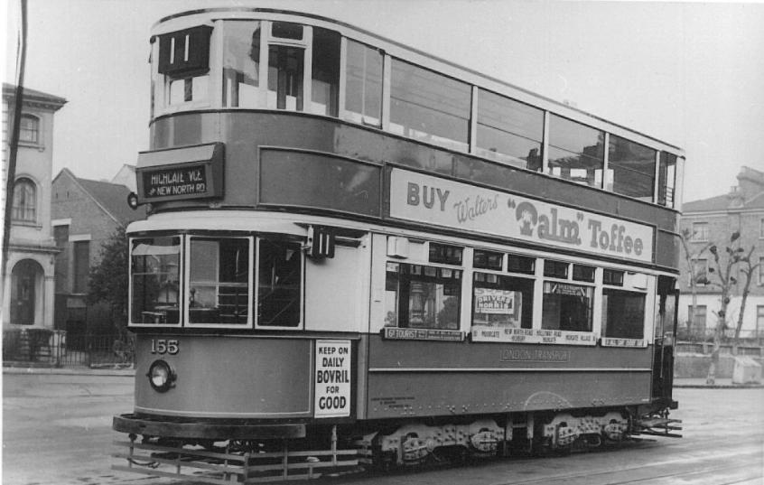 155 route 11 to Highgate Village 1930s