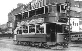 155 route 11 to Moorgate, 1930s