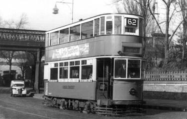 156 route 62 to Forest Hill @ Hornimans, post-war