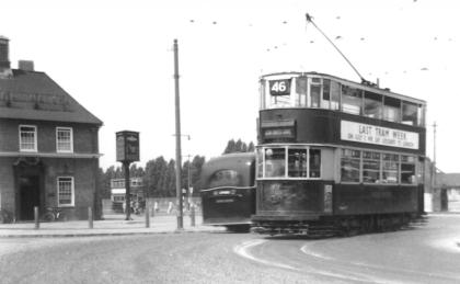 1931 serv 46 to New X Gate 28-6-1952