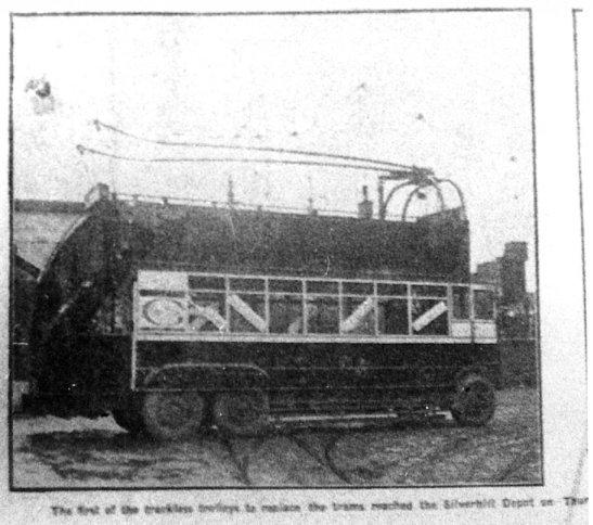 1st d-d trolley Silverhill 8-3-1928