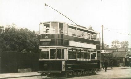 298 route 36 to Embankment @ Abbey Wood 1949
