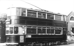307 serv to Embankment @ Abbey Wood, wartime