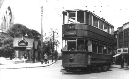 337 route 44 to Middle Park Ave @ Eltham, post-war