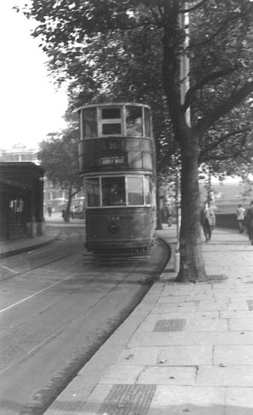 344 route 36 to Abbey Wood on Embankment, post-war