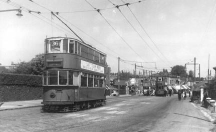 84 route 36 to Abbey Wood 5-7-1952