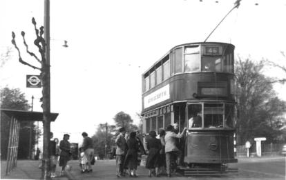 88 route 46 to Beresford Sq 19-4-1952
