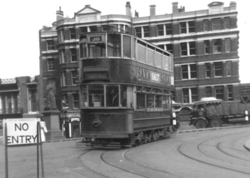 90 route 38 to Abbey Wood 17-6-1952