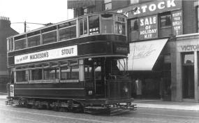 90 route 63 to Aldgate, pre-war