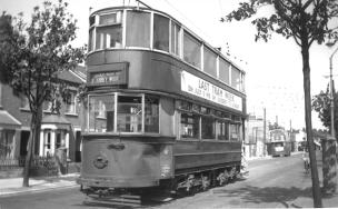90 serv to Abbey Wood 5-7-1952