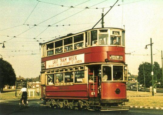 91 serv 46 to Woolwich @ Eltham 7.1952