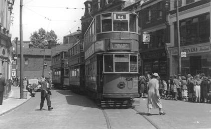 92 route 44 to Middle Park Ave, 5-7-1952