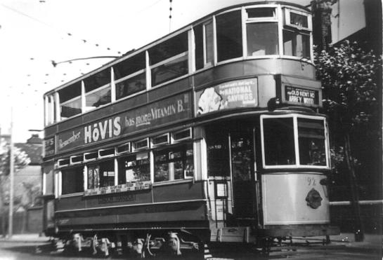 92 to Abbey Wood, post-war
