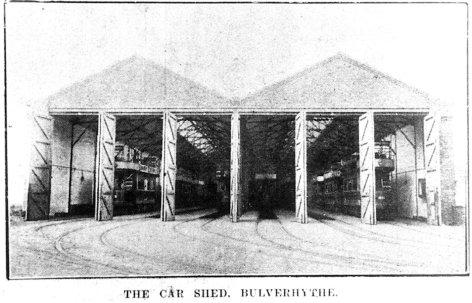Bulverhythe Depot 18-2-1909