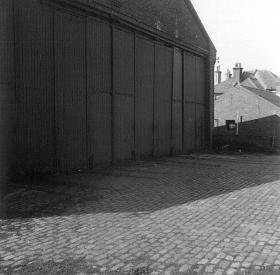 Bulverhythe Depot track, doors & setts 26-4-1967