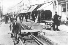 Tracklaying, Queens Rd c1905