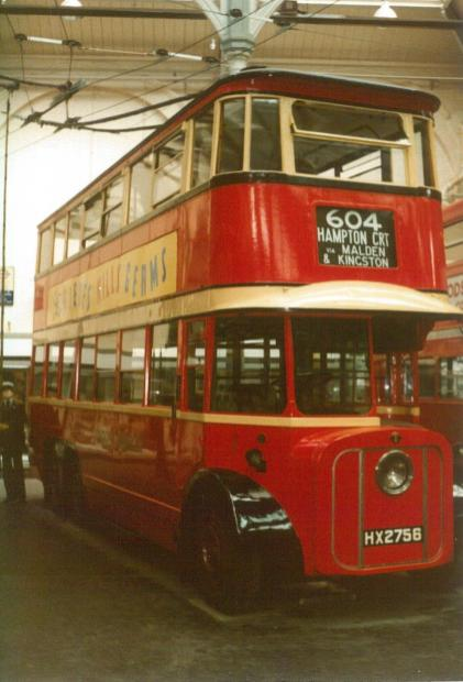 Trolley 1 front & offside view, Covent Garden Mus 17-9-1983