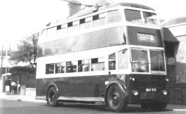 Trolley 2 serv 6 to Hollington, ex-works no adverts