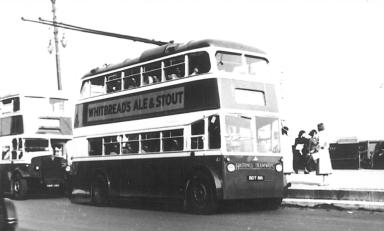 Trolley 41 BDY816 Bexhill serv, Hastings seafront