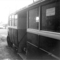 Trolley 45 Silverhill depot nearside c1970