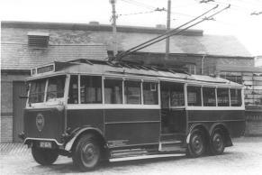 Trolley 49 Silverhill Depot WW2 b1929 wd 1947