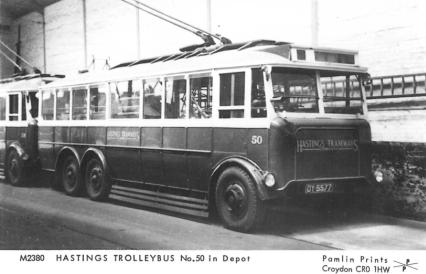 Trolley 50 DY5577+ 58 in depot