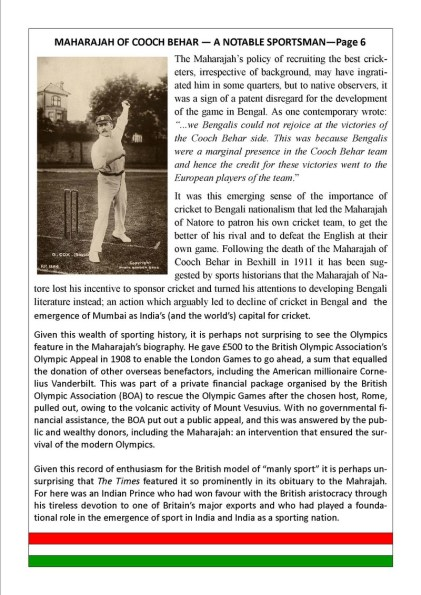 Maharaja of Cooch Behar- Page 6