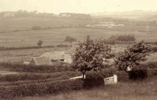 Bragg's Farm taken about 1892.