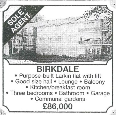 Birkdale - The development that Larkin was most pleased with.
