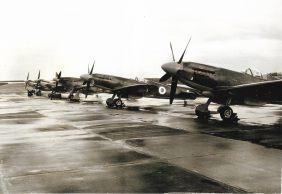 Spitfires at Biggin Hill, 1958