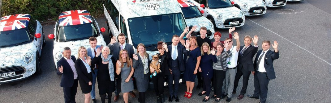 Anthony Martin donate 17 seater accessible mini bus to Bexley Accessible Transport Scheme (BATS)